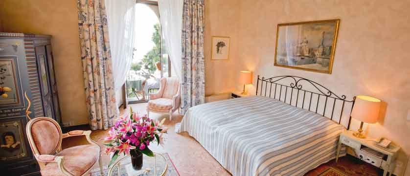 Romantik Hotel Castello Seeschloss, Ascona, Ticino, Switzerland - double bedroom with balcony.jpg